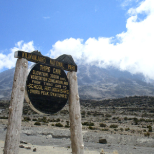 Third Cave on the Northern Circuit route of Mount Kilimanjaro